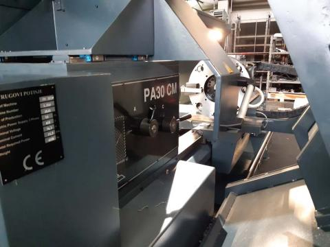 Nova mašina PA 30/2000 CM Univerzalni strug sa cikličnim upravljanjem
