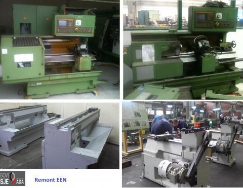 Overhauled machine EEN repair procedure